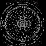 Logo senza sfondo bianco Clan Rosa dei Venti - Gruppo Scout Rende 2